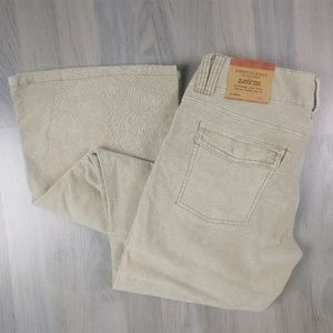 American Eagle Downtown Hipster Cord Flares 6 NEW!